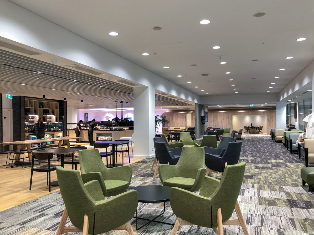 Seating Area  Strata Lounge - Auckland Airport (AKL)