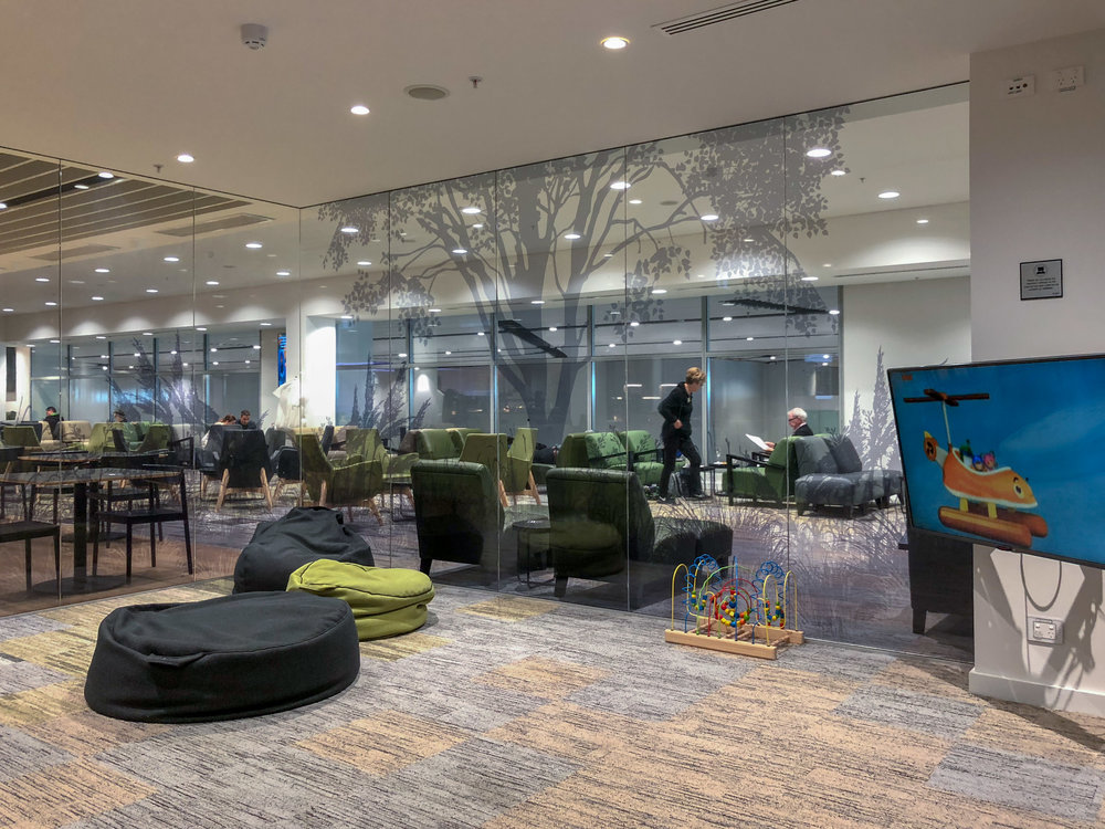 Children Playroom  Strata Lounge - Auckland Airport (AKL)
