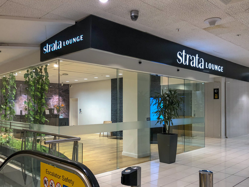 Entrance to Lounge  Strata Lounge - Auckland Airport (AKL)