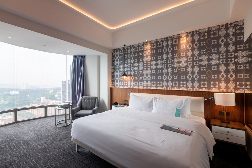 Bedroom  Le Meridien Club Room - Le Meridien Kuala Lumpur