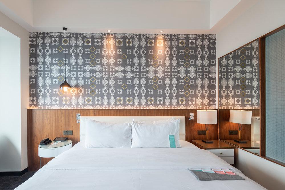 King-size Bed  Le Meridien Club Room - Le Meridien Kuala Lumpur