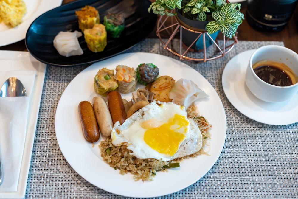 Breakfast  Le Meridien Club Lounge - Le Meridien Kuala Lumpur