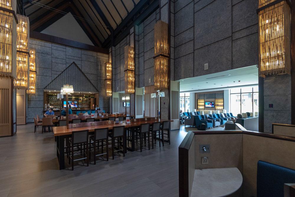 Interiors  Plaza Premium Lounge - Siem Reap International Airport (REP)