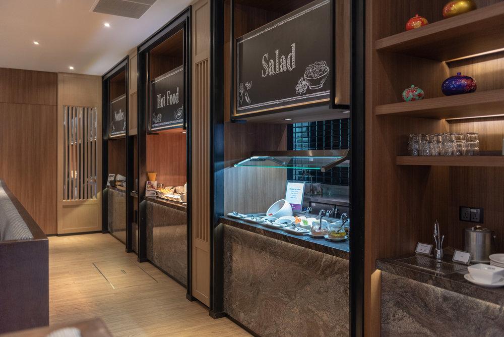 Dining Room  Plaza Premium Lounge - Siem Reap International Airport (REP)