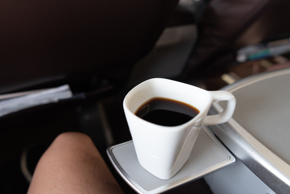 Black Coffee   SilkAir Business Class MI615 737-800 - REP to SIN