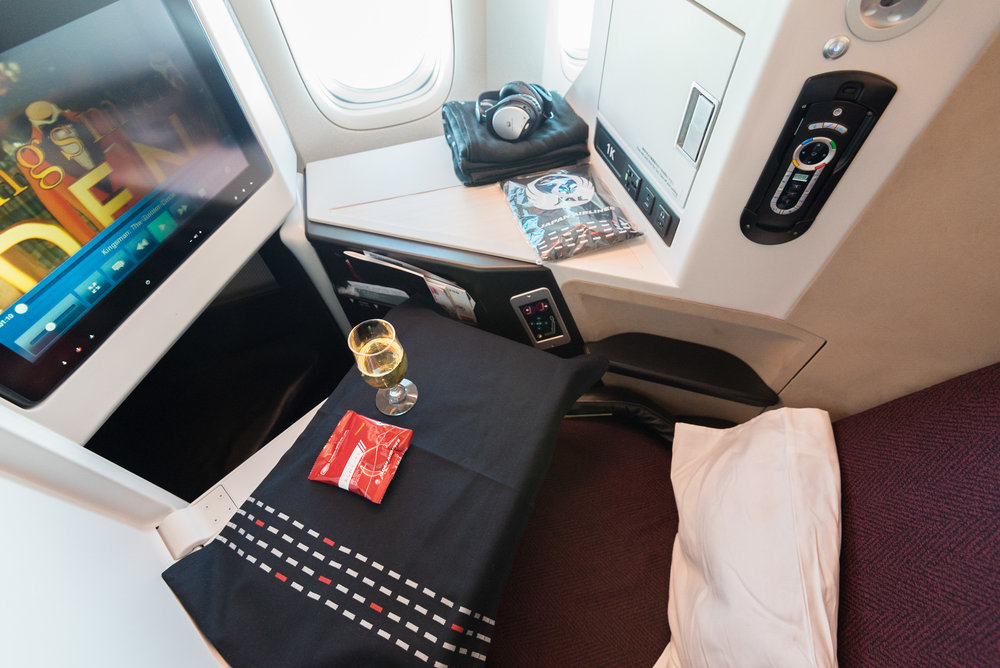 Japan Airlines Business Class - JL37 HND-SIN (Haneda to Singapore)