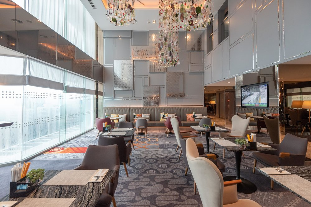 Seating Area  Le Meridien Club Lounge - Le Meridien Kuala Lumpur