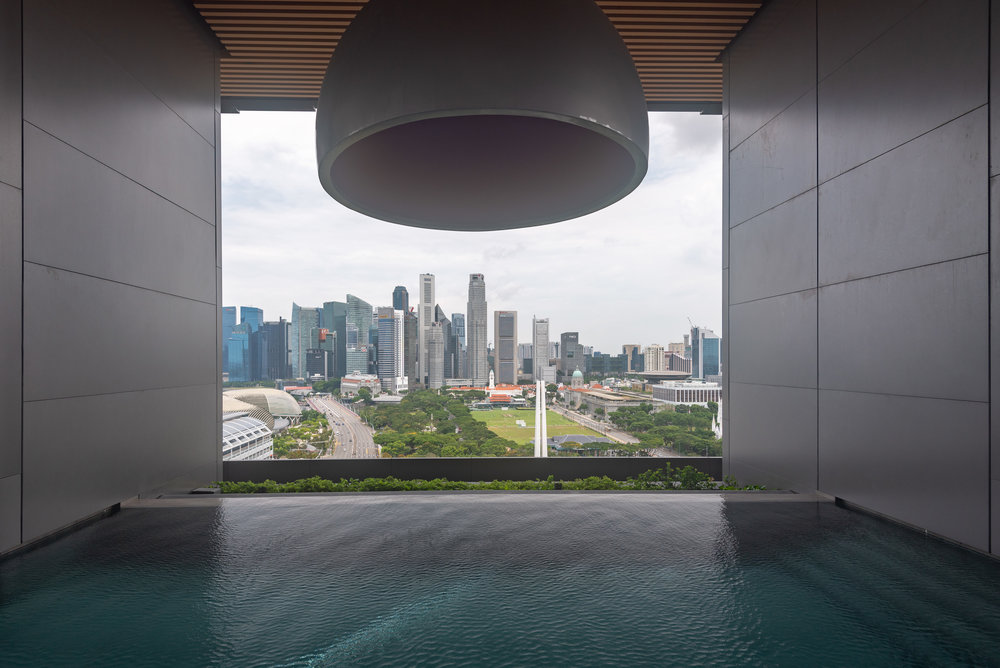 Swimming Pool  Flow 18 - JW Marriott Hotel Singapore South Beach