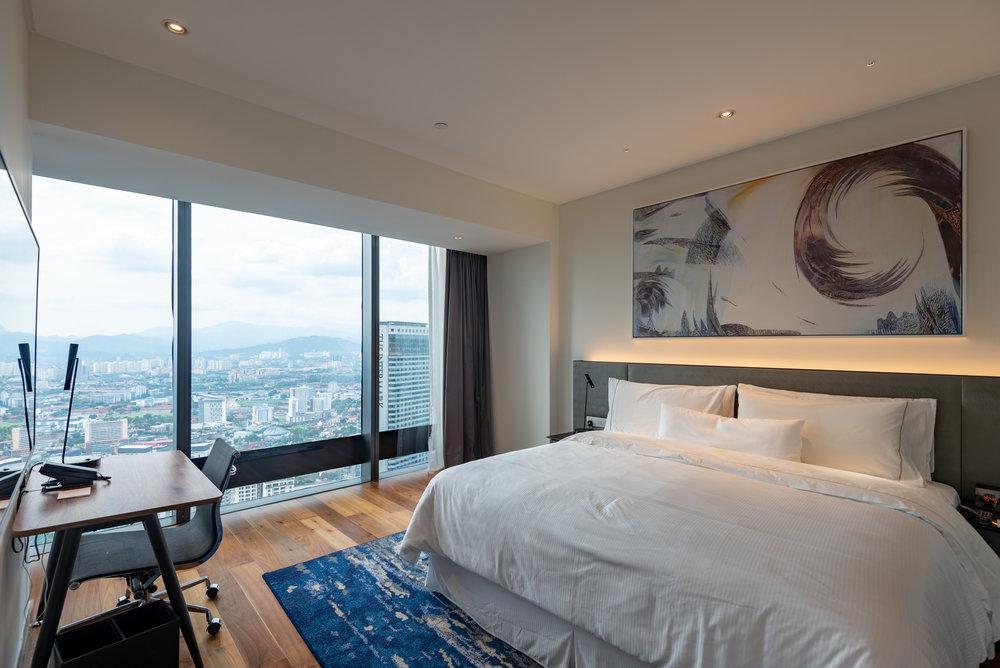 Bedroom  One Bedroom Skyline Suite - Element Kuala Lumpur
