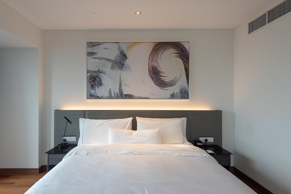 King-size Bed  One Bedroom Skyline Suite - Element Kuala Lumpur