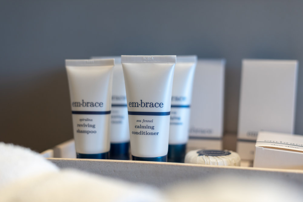 Bath Amenities by em-brace  Pacific Club King Room - Pan Pacific Melbourne