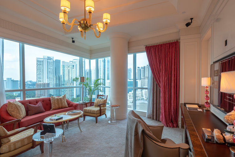 Caroline Astor Suite at The St. Regis Singapore