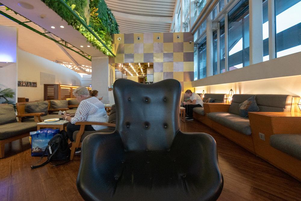Throne Seats  T/G Lounge - Ngurah Rai International Airport (DPS)