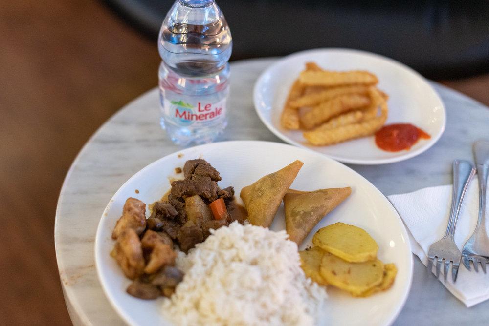 Simple Buffet Spread  T/G Lounge - Ngurah Rai International Airport (DPS)