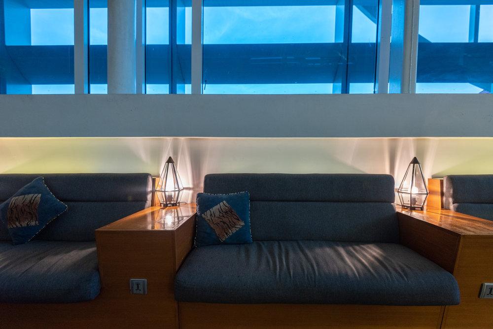 Seating Area  T/G Lounge - Ngurah Rai International Airport (DPS)