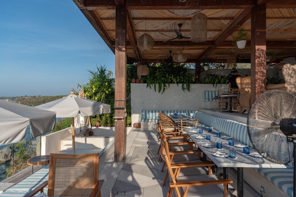 Dining Area  Ulu Cliffhouse - Uluwatu, Bali
