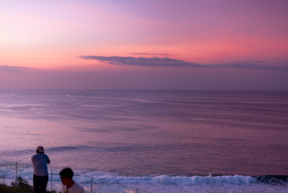 Sunset  Ulu Cliffhouse - Uluwatu, Bali