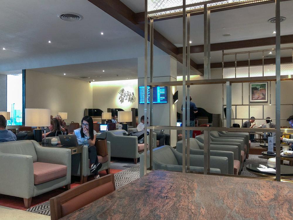 Seating Area  Singapore Airlines SilverKris Lounge - Suvarnabhumi Airport (BKK)