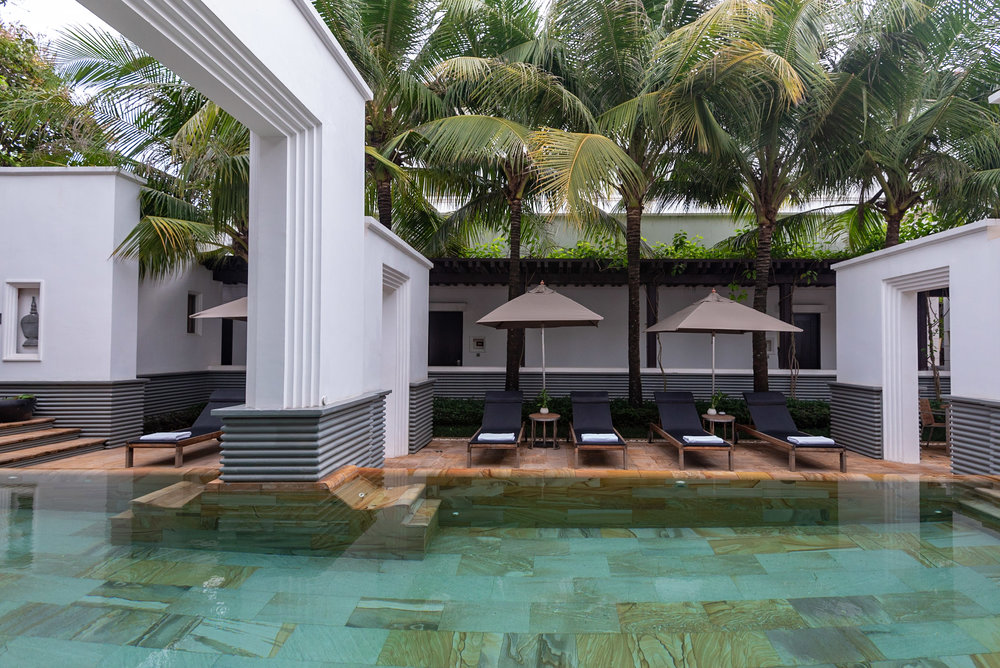 Saltwater Swimming Pool  Park Hyatt Siem Reap