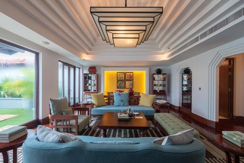 Hotel Review Capella Singapore Two Bedroom Garden Villa Family