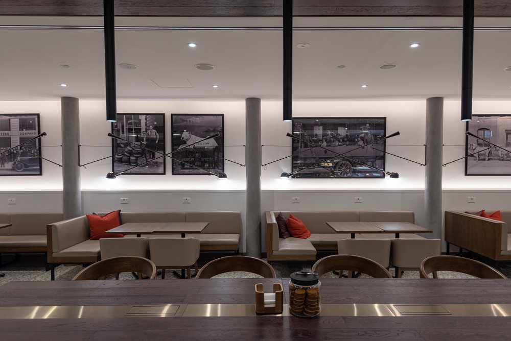 Main Seating Area  American Express Lounge - Melbourne Airport