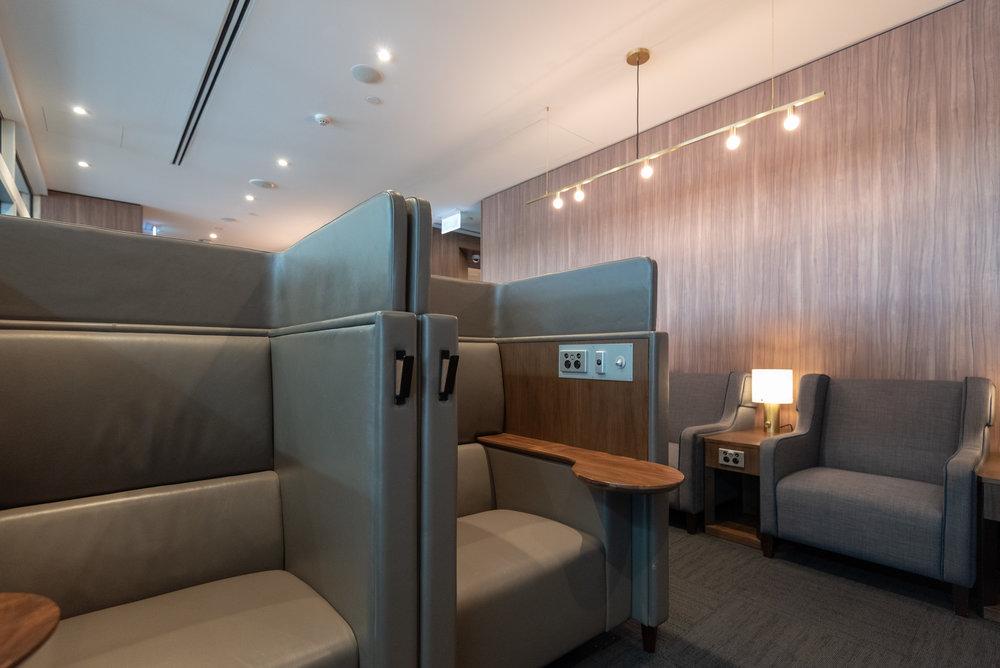 Semi-Private Seats  Plaza Premium Lounge - Melbourne Airport (MEL)