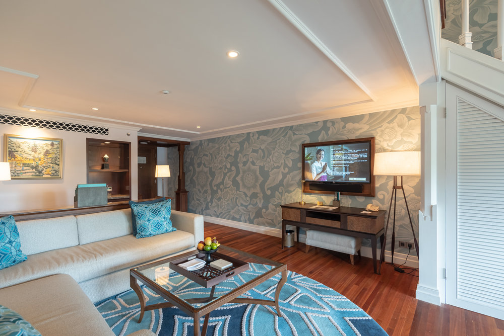 Living Room  Premium Club InterContinental Duplex Suite - InterContinental Bali Resort