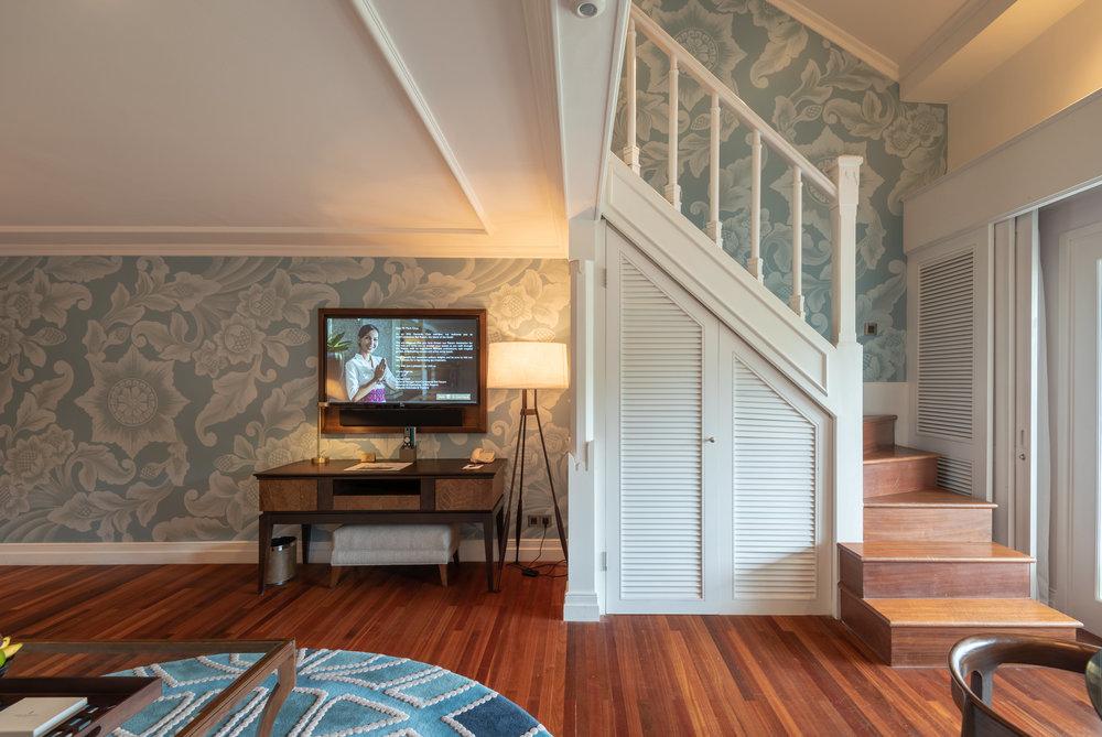 Stairs Leading to the Bedroom  Premium Club InterContinental Duplex Suite - InterContinental Bali Resort