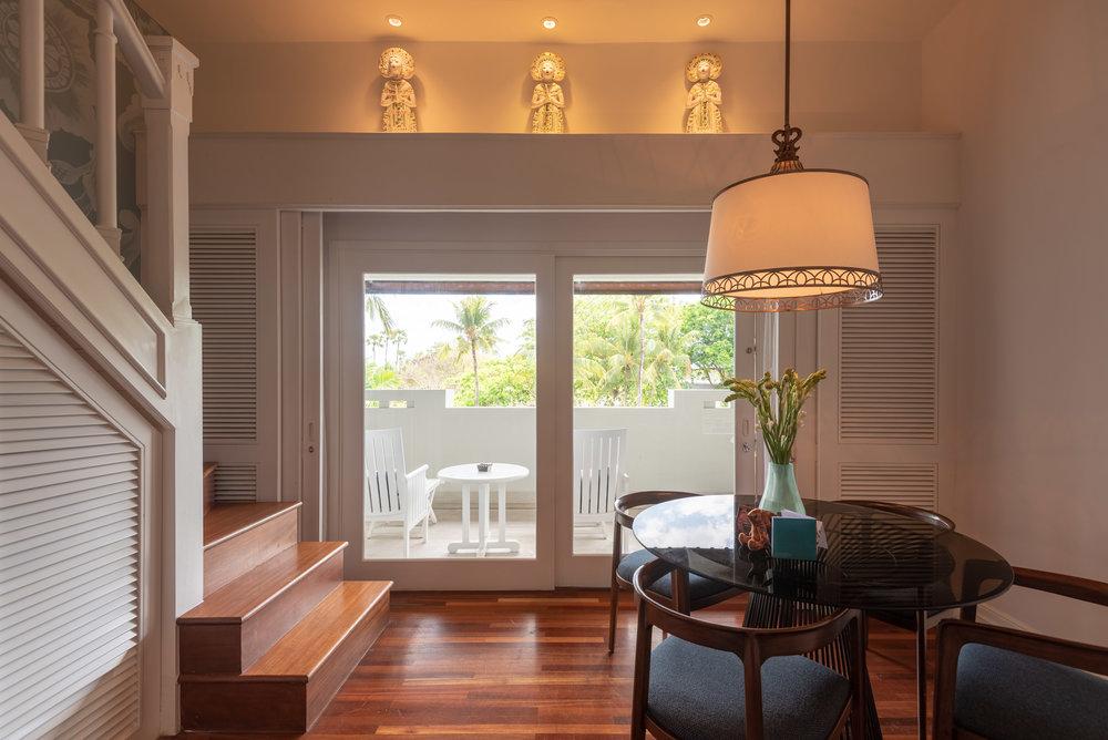 Private Balcony  Premium Club InterContinental Duplex Suite - InterContinental Bali Resort