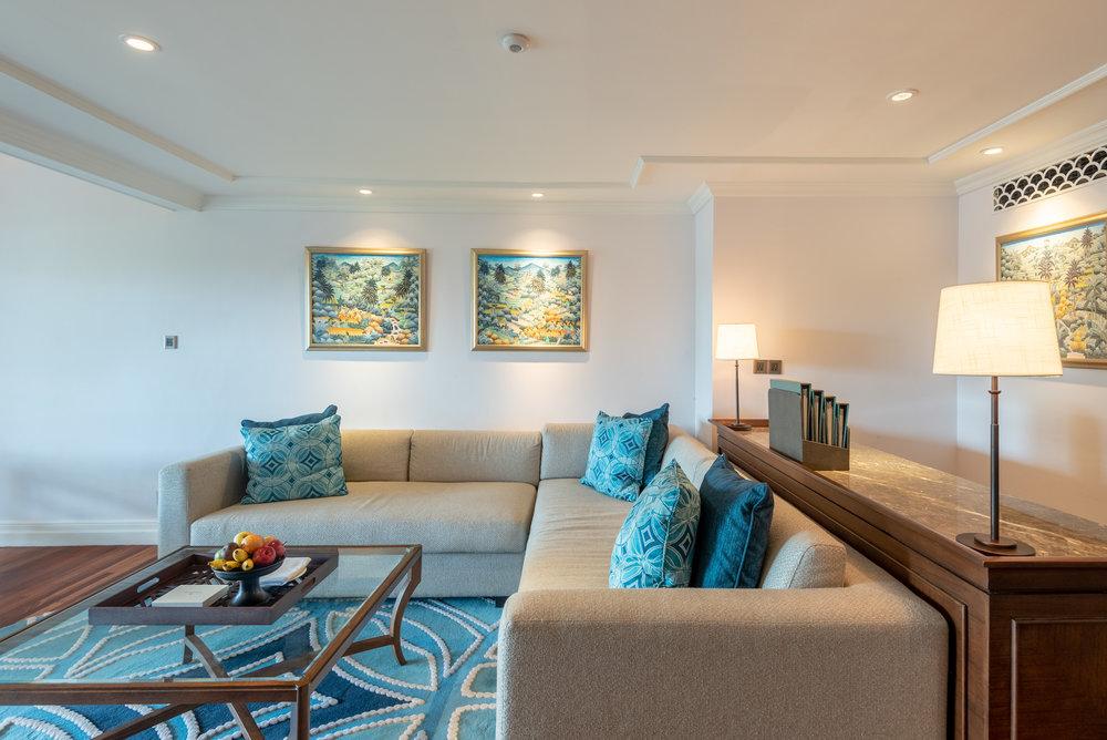 Seating Area  Premium Club InterContinental Duplex Suite - InterContinental Bali Resort