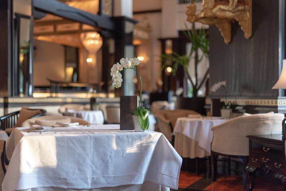 Fresh Flowers  Club InterContinental Lounge - InterContinental Bali Resort