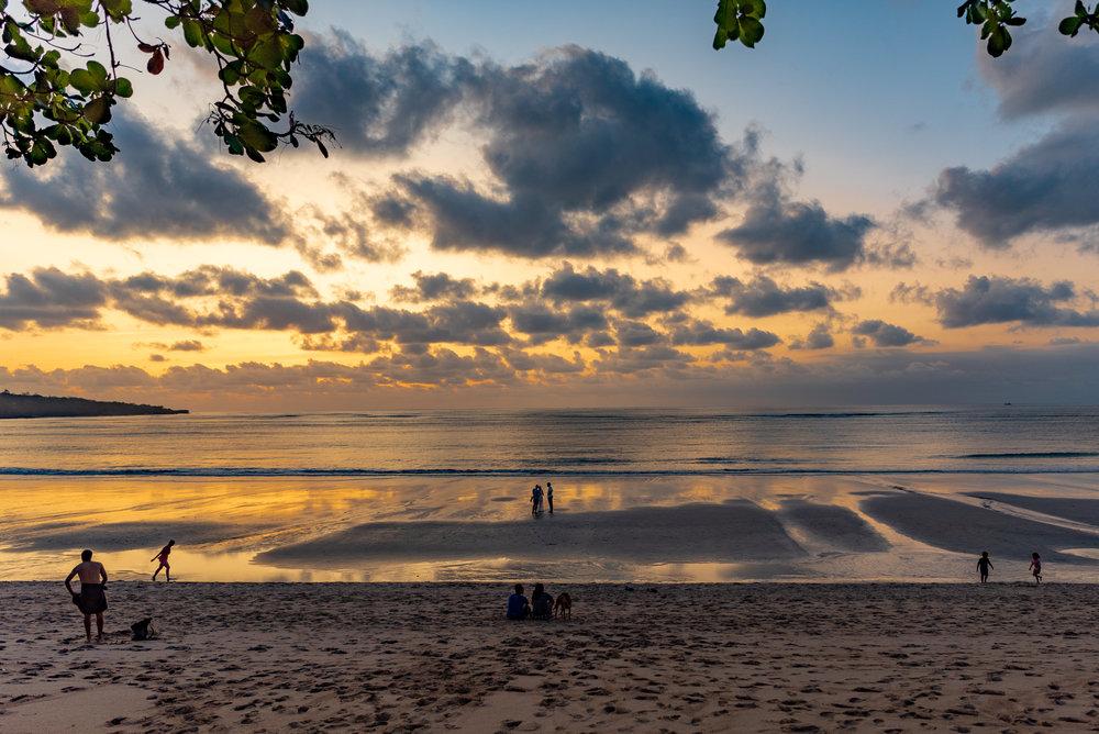 Sunset on Jimbaran Bay  InterContinental Bali Resort