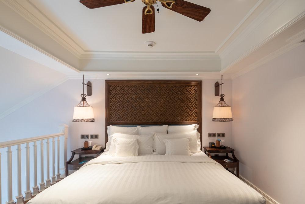 King-size Bed  Premium Club InterContinental Duplex Suite - InterContinental Bali Resort