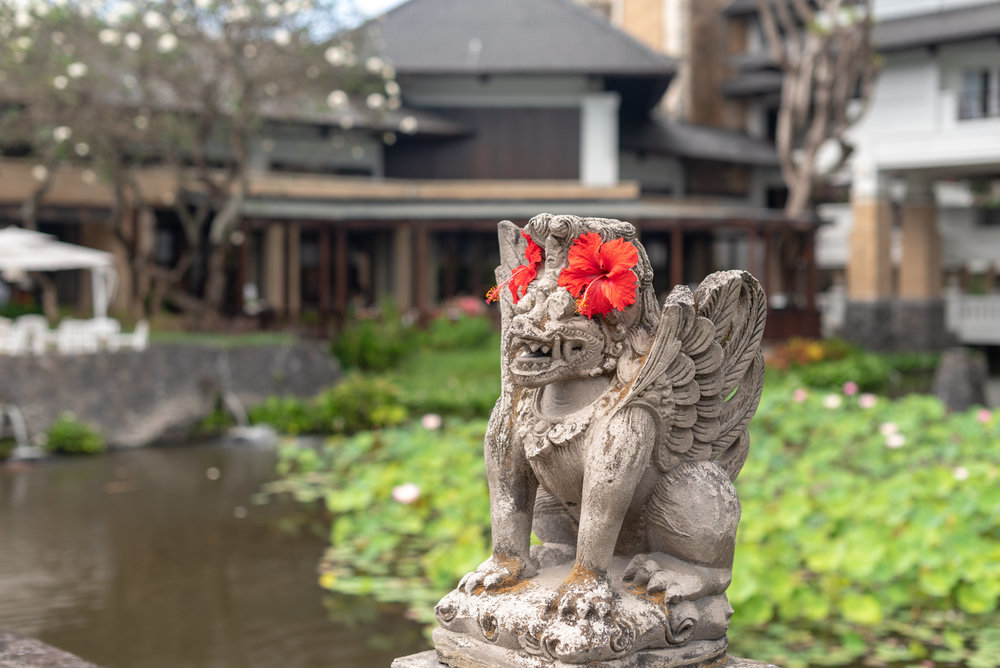 Plenty of Landscaped Gardens and Outdoor Spaces  InterContinental Bali Resort