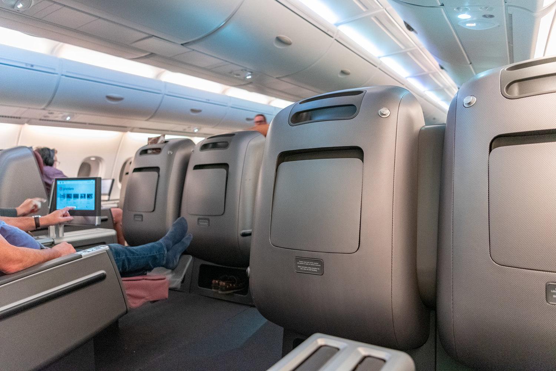 Trip Report: Qantas Business Class QF36 A380-800 - SIN to ...