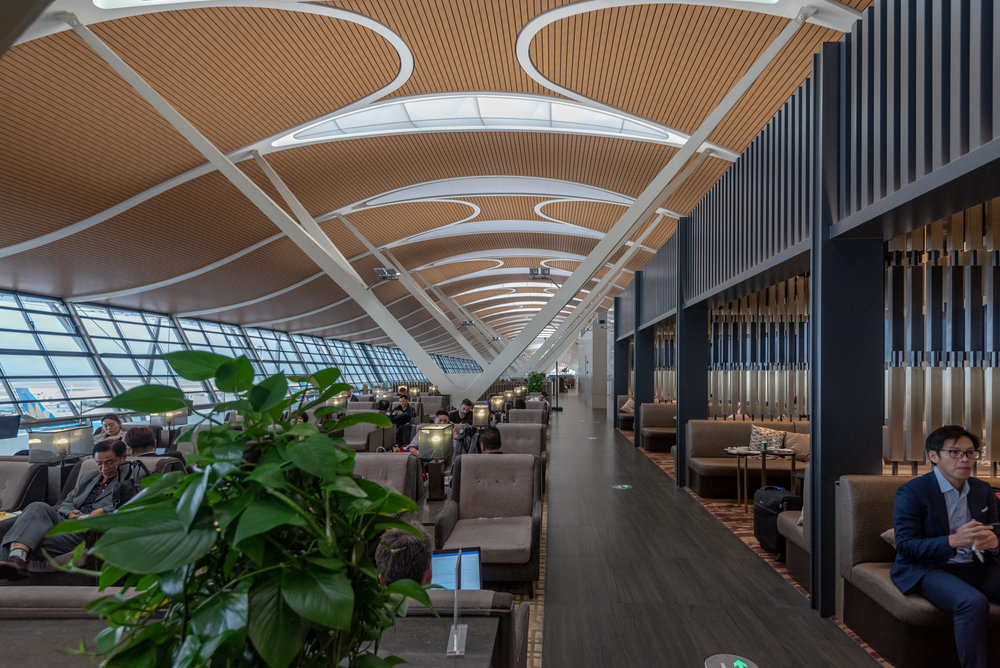 Lounge Interiors  No.77 China Eastern Plaza Premium Lounge - Shanghai Pudong International Airport (PVG)