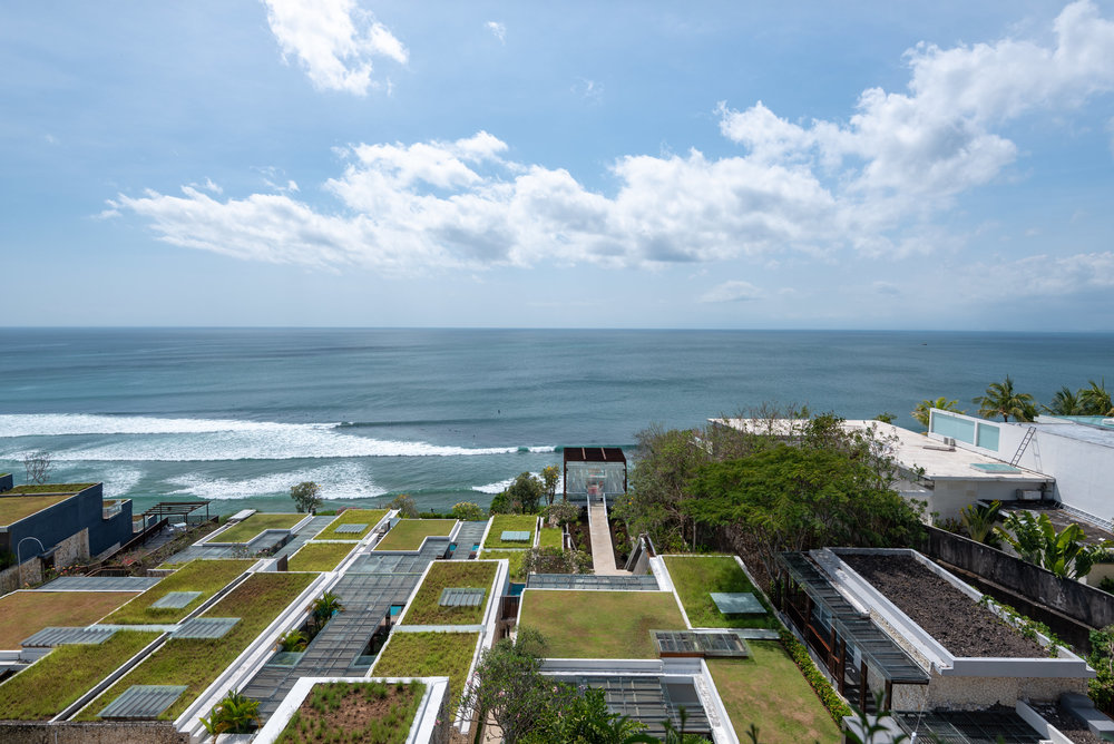 View of The Impossibles  360 Rooftop - Anantara Uluwatu Bali Resort