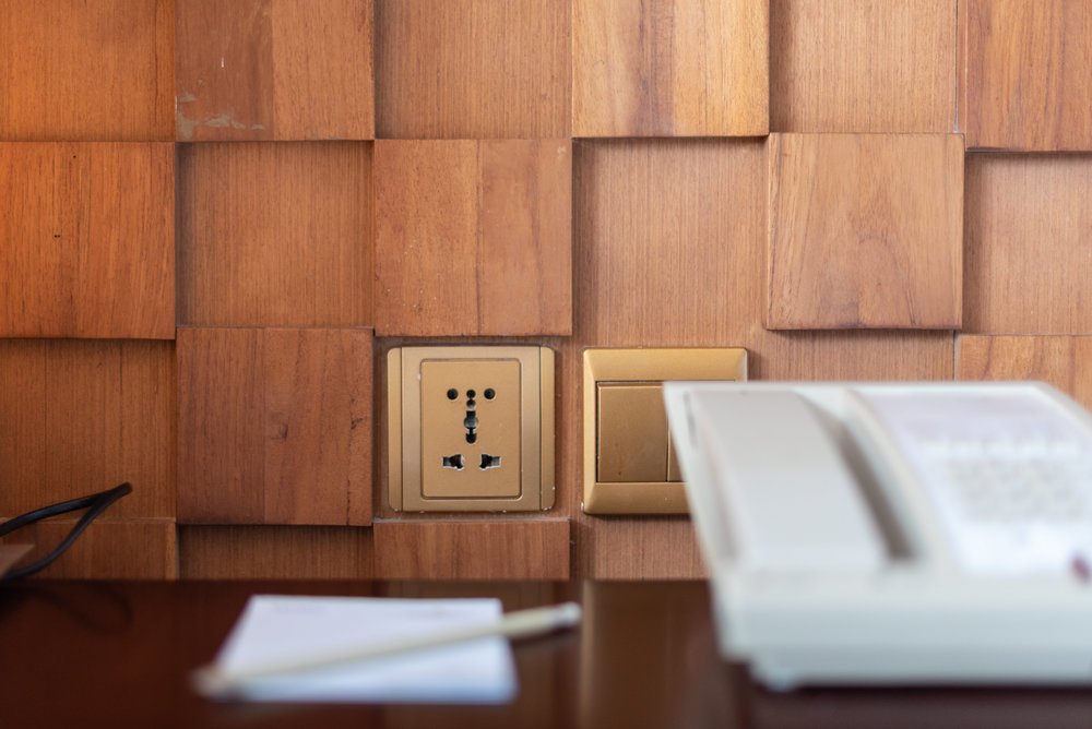 Universal Power Outlet  Ocean Front Suite - Anantara Uluwatu Bali Resort