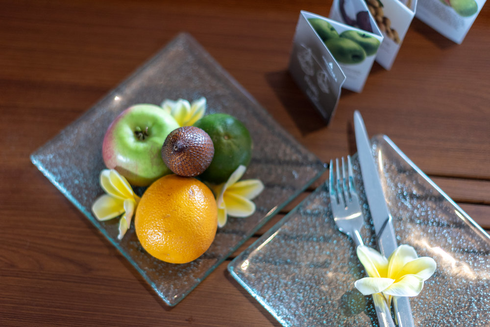 Tropical Fruits  Ocean Front Suite - Anantara Uluwatu Bali Resort