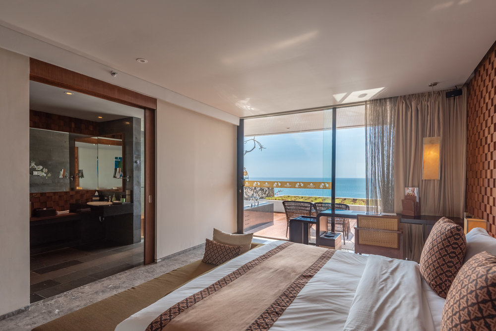 View of the Ocean  Ocean Front Suite - Anantara Uluwatu Bali Resort