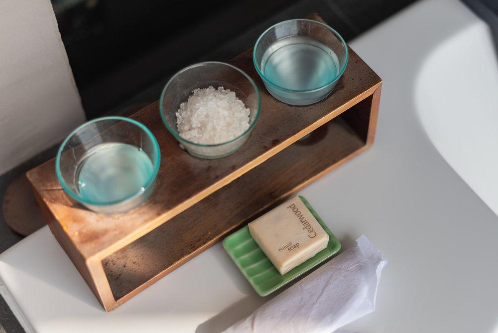 Bath Salt   Ocean Front Suite - Anantara Uluwatu Bali Resort