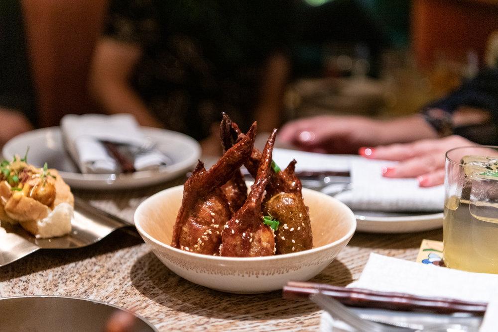 Phoenix Wings  MO BAR - Mandarin Oriental, Singapore