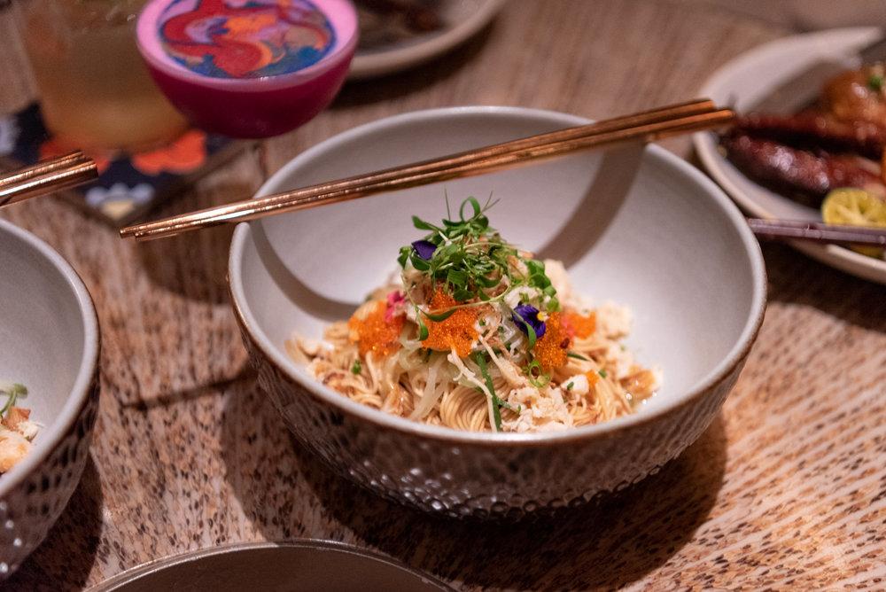 Somen Noodles  MO BAR - Mandarin Oriental, Singapore