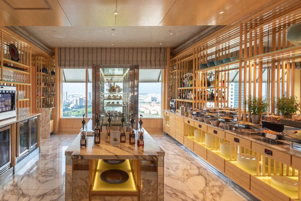 Pantry  Club Lounge - The Ritz-Carlton, Millenia Singapore