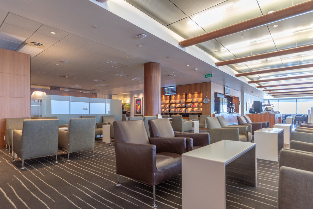 Seating Area  Qantas International Business Lounge - Auckland Airport (AKL)