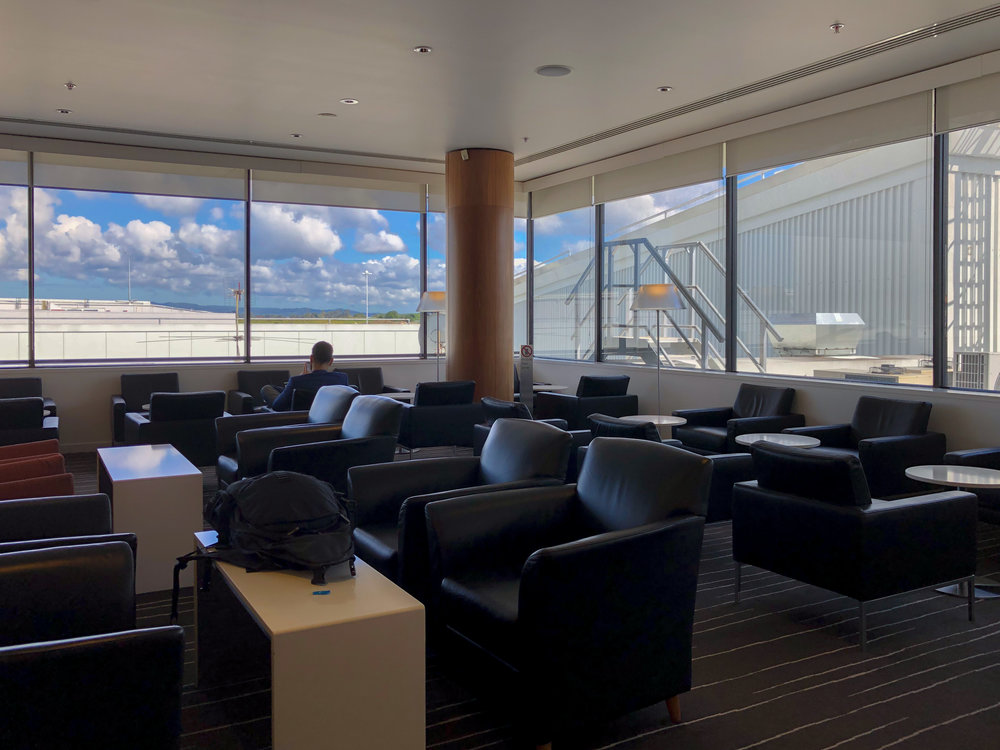 Quiet Zone  Qantas International Business Lounge - Auckland Airport (AKL)