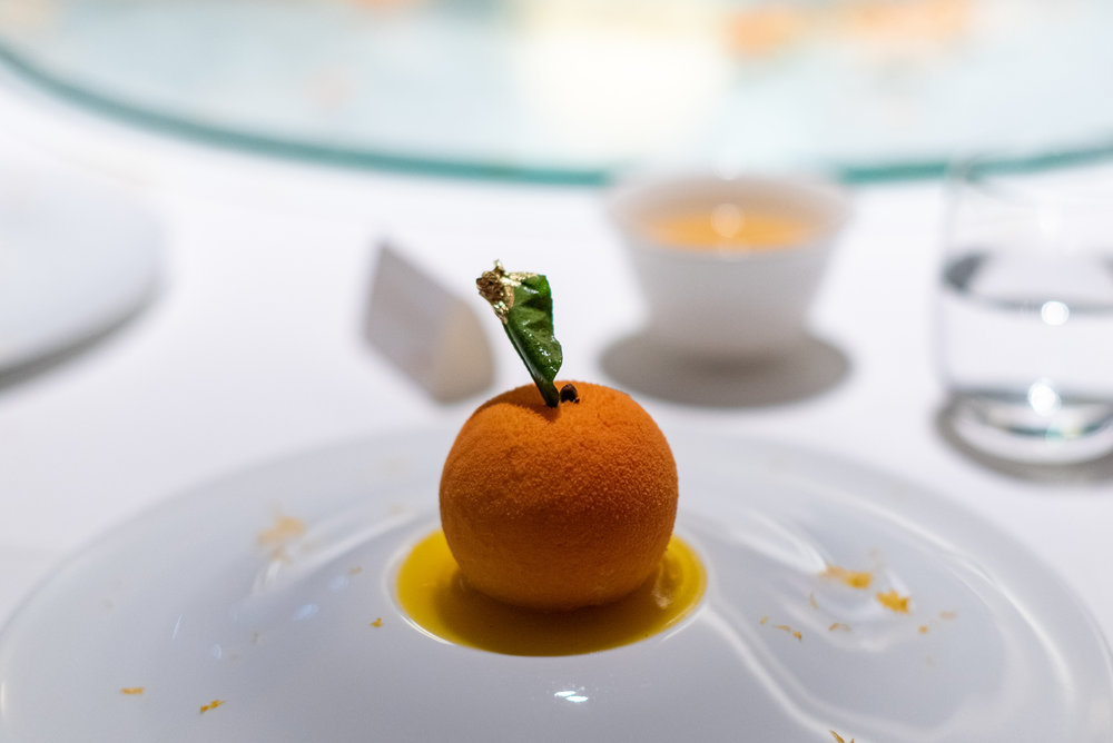 Chocolate Crémeux with Mandarin Orange  Madame Fan - The NCO Club