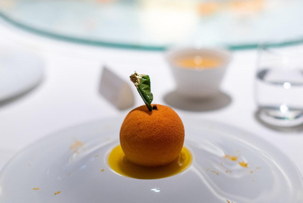 Chocolate Crémeux with Mandarin Orange  Madame Fan - The NCO Club