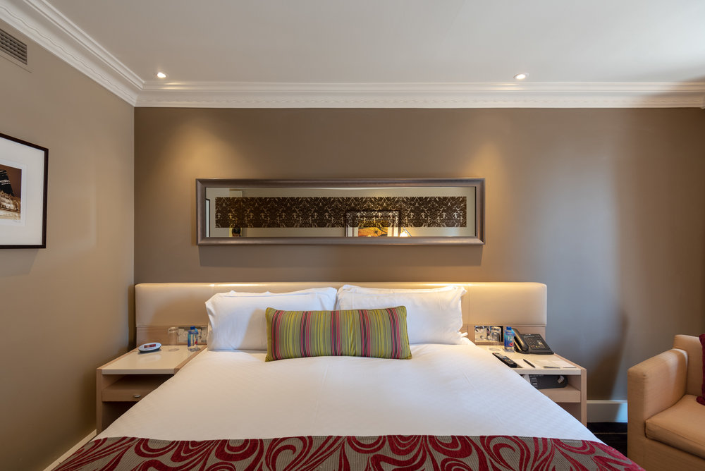 Comfortable Bed  Executive Room - InterContinental Melbourne The Rialto