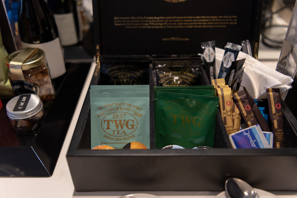 Selection of Teabags  Executive Room - InterContinental Melbourne The Rialto